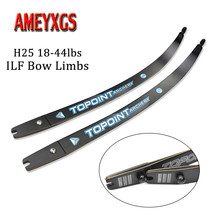 1pair Archery 68 H25 Bow Limbs 18-44lbs ILF Recurve Takedown Right Hand Shooting Long Bows Hunting Accessories