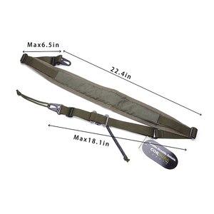 Image 4 - MILITECH TWINFALCONS TW 500D Cordura, тактическая охотничья два 2 точек касания Slingster мягкий модульный оружейный слинг регулировки винтовка пистолет ремень