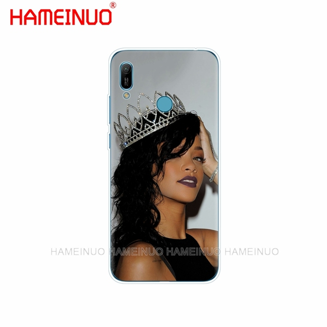 Silicone téléphone couverture étui pour huawei Y5 Y6 Y7 Y9 PRO PRIME 2019 honour 8s 8a 20 LITE PRO 10i vue 20 V20 Robyn Rihanna fety
