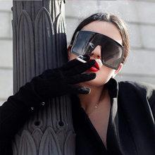 Siyah büyük boy plastik kadın güneş gözlüğü lüks moda büyük ünlü marka maske şekilli güneş gözlüğü erkekler toplu tonları büyük çerçeve
