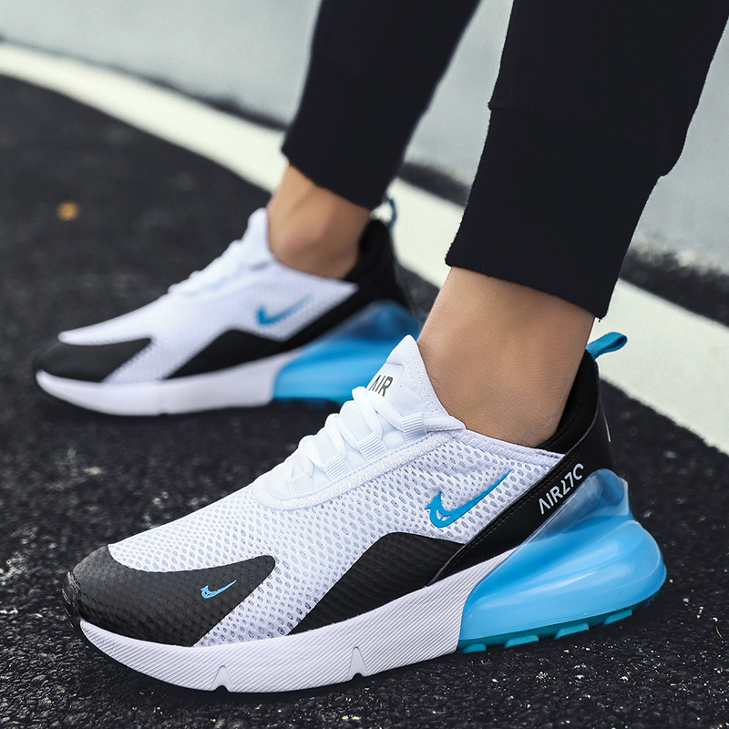 Running-Shoes Sneakers Mesh Air-Cushion Hot-Fitness-Trainer Breathable Plus-Size Women