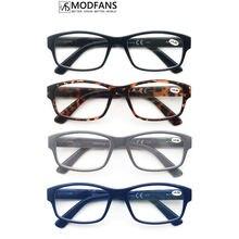 Очки для чтения oversiza мужские прямоугольной формы с большой