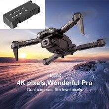 500mAh Batterie pour Nouveau Mini Drone XT6 4K 1080P Caméra HD WiFi Fpv Pression D'air Maintien D'altitude Pliable Quadrirotor RC Drone Jouet
