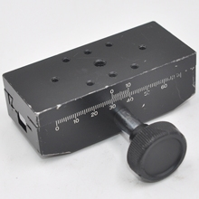 LS-912 CHUO manual optical platform 40 * 90mm dovetail groove displacement fine adjustment slide aluminum alloy