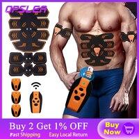 EMS-Estimulador muscular de cadera para Fitness, entrenador Abdominal para glúteos, Control remoto, cinturón para muscular, masajeador adelgazante corporal