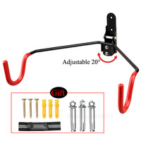 Mountain Bicycle Parking Support Cycle Stand Wall Hooks For Bikes Holder Steel Mount MTB Bike Storage Rack Cycling Accessories|Bicycle Rack| |  -