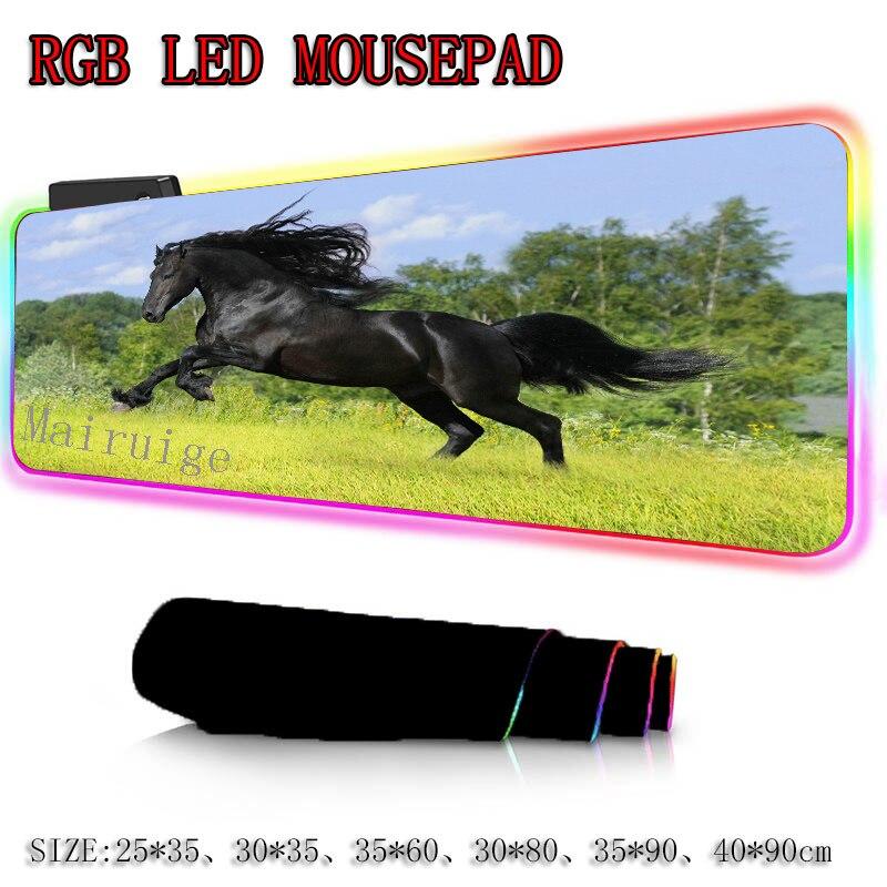 Купить большой игровой коврик для мыши mairuige dark horse с аниме