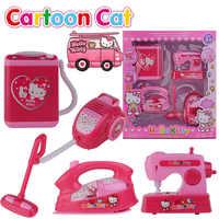 Chico Mini microondas, horno, refrigerador secador de pelo simulación juego de rol juguete educativo para niños juguetes de cocina regalo de Navidad