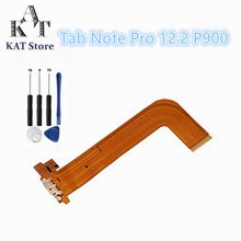 P900 ZHANGJIALI JIALIZ Mobile Accessories Card Holder Adapter Socket SD Card Reader Contact Flex Cable for Galaxy Note Pro 12.2
