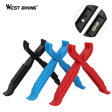 WEST BIKING Bike Tire Lever Cycling Master Link Chain Pliers Multifunctional Repair Tools Bicycle Accessories Missing Link Lever bicycle master link plier valve tool tire lever missing link box pack pliers 4 in 1 multi function tools cnc aluminum alloy s24