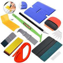 EHDIS Vinyl Applicator Tools Kit Water Quick Wrapping Rubber Squeegee Scraper Window Tint Sticker Decal Cutting Knife Car Tools