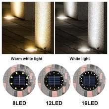 Экологичный светильник на солнечной энергии уличный для дорожек