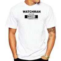 Ezekiel-Camiseta de moda para hombre, camisa de WATCHMAN en la pared, 100% de algodón con personalidad de verano, 2020