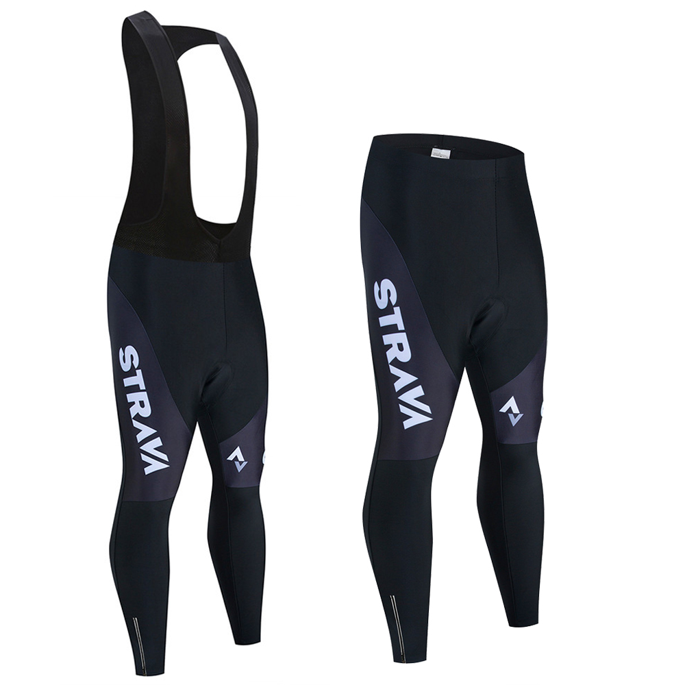 STRAVA 2020 Spring Autumn Cycling Pants With 9D Gel Pad Cycling Tights MTB Bike Pants Downhill Bicycle Pants Cycling Trousers