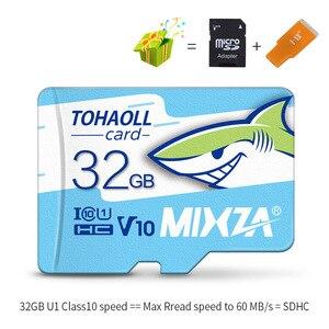 Image 1 - MIXZA HY بطاقة الذاكرة 256GB 128GB 64GB U3 80 برميل/الثانية 32GB بطاقة مايكرو sd Class10 UHS 1 بطاقة ذاكرة فلاش ميكروسد تف/سد بطاقات