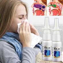 Nasal Herb Spray Chronic Allergic Rhinitis Sinusitis Treatment Nose Congestion R