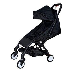 Image 2 - El cochecito de bebé liviano yoya Original puede sentarse y tumbarse, paraguas plegable de 175 grados, carrito de bebé ultraligero portátil en el avión