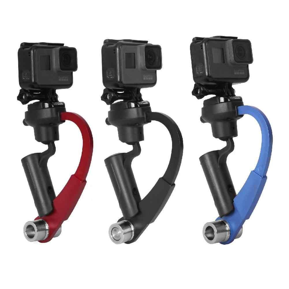 Mini Di Động 3 Trục Gimbal Ổn Định Video Hợp Kim Tay Cầm Cho Gopro Hero3 + Hero4/5/Hành Động camera Thể Thao DV