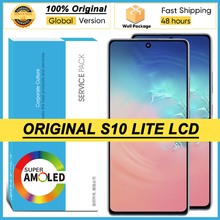 100% Original 6.7 Display for Samsung Galaxy S10 Lite SM G770F/DS SM G770F LCD Touch Screen Digitizer Assembly Repair Parts