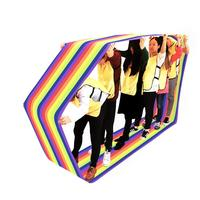 Kids Group Game Learning Activity Fun Playing Games Run Mat Training Games Rainbow Mat For Children Child Team Work
