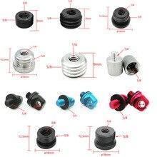 """Adaptador de montaje de tornillo de rosca de 3/8 """"a 5/8"""" macho a hembra de 1/4 """"a 5/8"""", soporte de tornillo de placa de trípode para Flash de cámara, soporte de luz"""