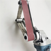 Angle Grinder Sanding Belt Adapter Accessories Belt Sander Polisher Electric Polishing Machine Tool for Stainless Steel Tube