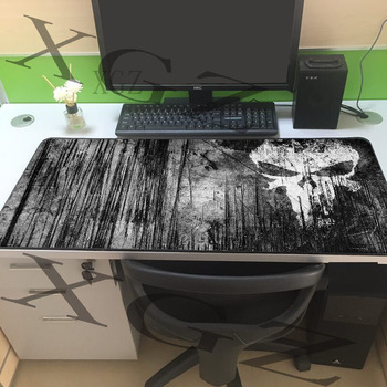 XGZ genial fondo negro imagen de Avatar Borde de bloqueo antideslizante gran alfombrilla de ratón para juegos Player Pc teclado para Csgo DOTA