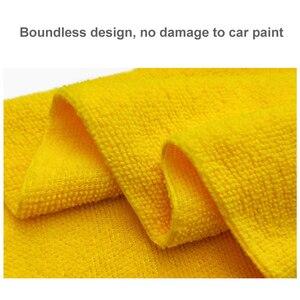 Image 2 - Asciugamano in microfibra di cristallo cerato per lavaggio auto Extra morbido asciugamano per pulizia auto panno per asciugatura cura dellauto dettaglio del panno asciugamano per auto mai macchiato