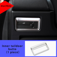 Odlewnictwo wewnętrzne przycisk drzwi tylnych do jaguara 1 szt. Chrom Xfl w Chromowane wykończenia od Samochody i motocykle na