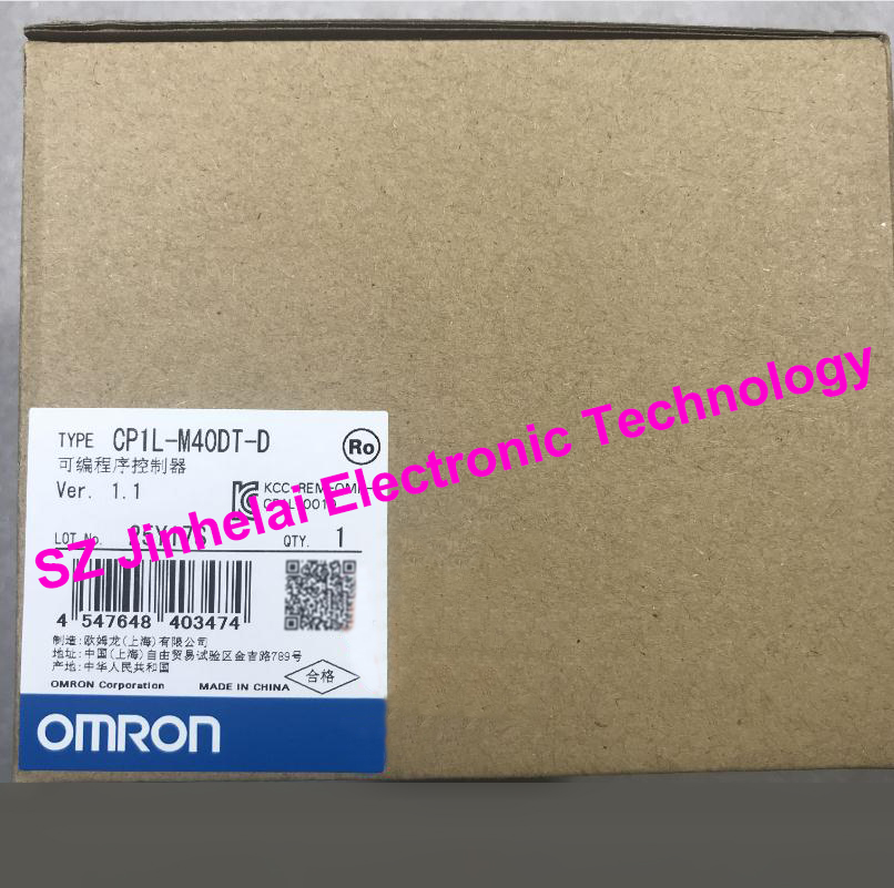 100% New and original CP1L-M40DT-D OMRON Programmable controller