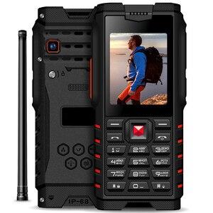 Ioutdoor 4500 мАч IP68 Водонепроницаемая ударопрочная русская клавиатура, прочный мобильный телефон, 2,4