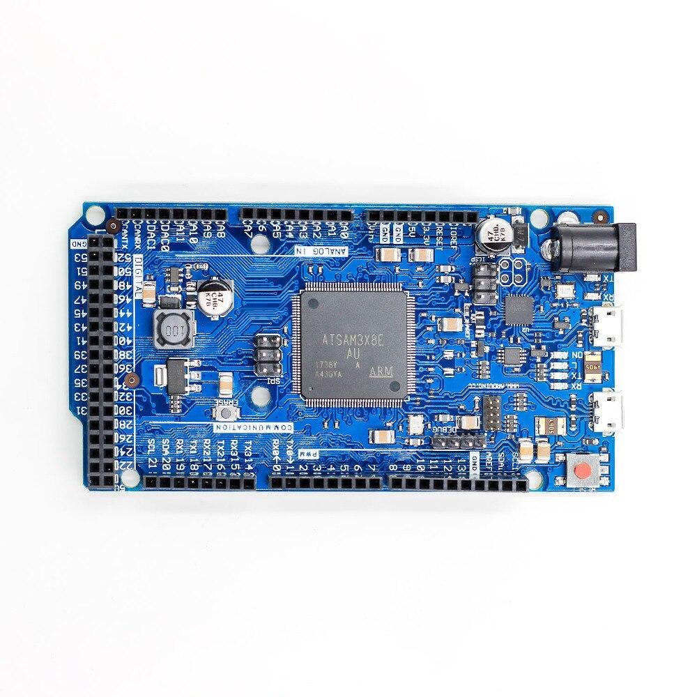 NOVA Oficial Compatível DEVIDO R3 Placa SAM3X8E 32-bit ARM Cortex-M3 / Mega2560 R3 Duemilanove 2013
