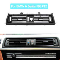 Front Console Central Air Conditioner AC Vent Chrome Grid Outlet For BMW 6 Series Coupe F06 F12 630 635 640 645 650 2011-2018