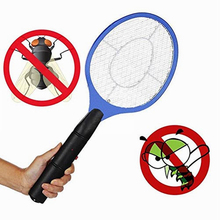 Battery-like Electric mosquito swatter fly swatter with three layers of safety net Racket Killer Protect Swatter Fly Killer tool