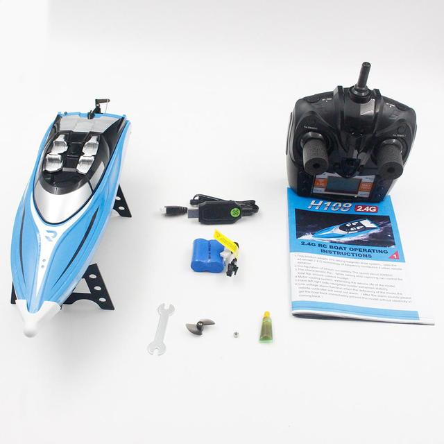 LeadingStar 2.4GHz 4CH 25KM/h High Speed Mini RC Boat for Kid Toys Gift 5