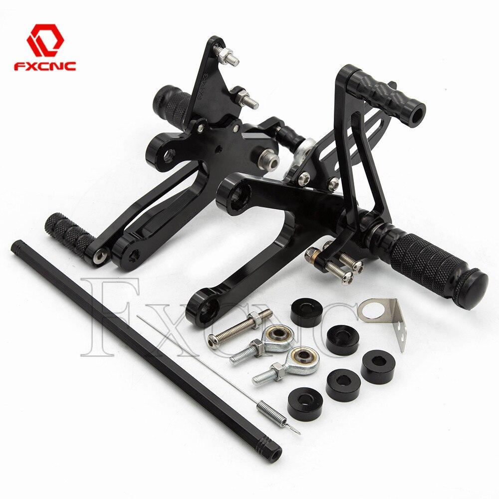 FOR Honda NSR250 NSR 250 MC21 PGM1 PGM2 PGM3 1990-1993 MC28 PGM4 1994-1997 Motorcycle Rearset Rear Set Foot Peg Pedal Footrest