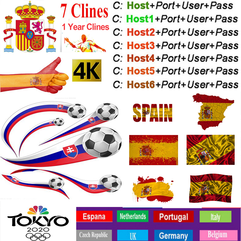 Oscam Europa 2019 Most Stable Cccams Europa Spain Satellite Tv Receiver 7lines WIFI FULL HD DVB-S2 Support Cccam V7 V8 V9 X800s