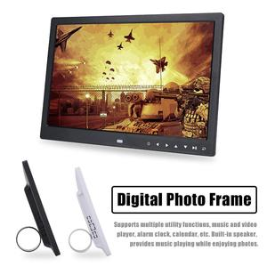 Image 3 - 15 inch HD Touch Screen Digital Photo Frame  MP3 MP4 Movie Player Alarm TFT LED Photo Digital MusicX  Home Decoration ABS