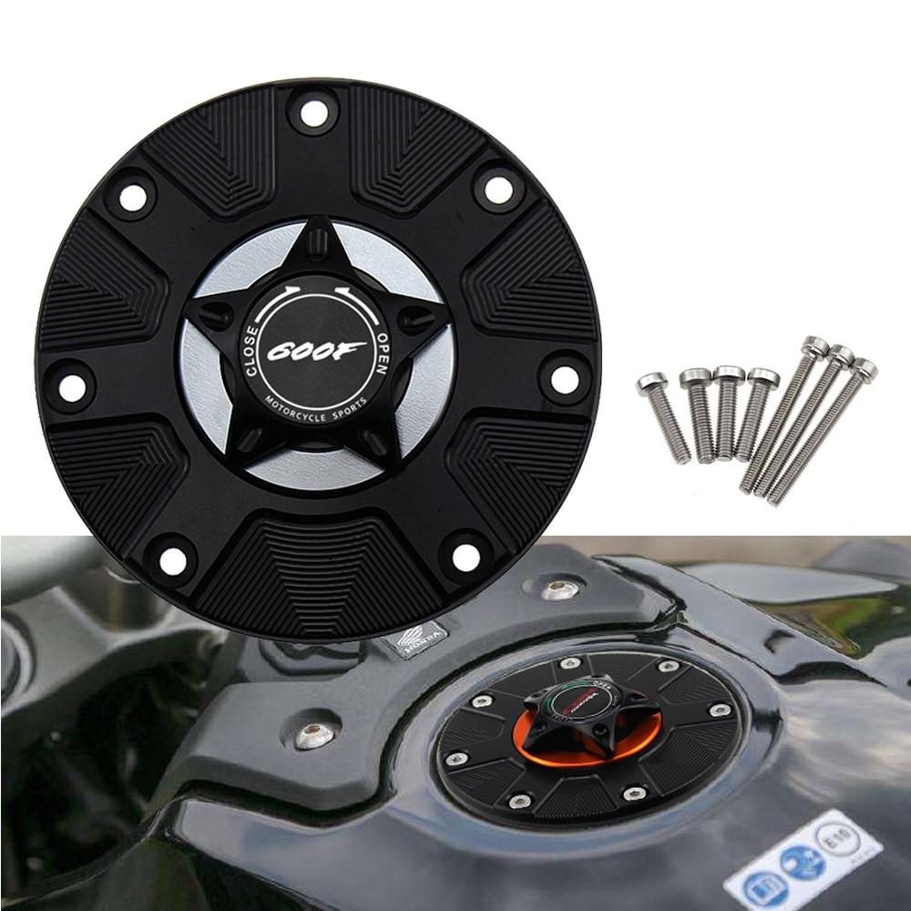 Avec Logo (600F) bouchon de réservoir de carburant à gaz pour Honda CBR600F CBR 600F 600 F 2011-2014 couvercle de dégagement rapide de moto