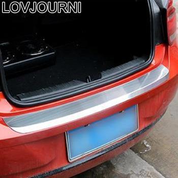 Rear Panels Foot Pedal Grille Exterior Automovil Auto Automobile Trim Parts Bright Sequins 10 11 12 13 14 15 FOR BMW X1 series