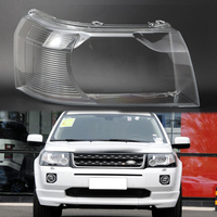 Freelander 2 2007 2012 Front headlight cover headlight transparent housing lens shell Lens light glass for Land Rover Freelander
