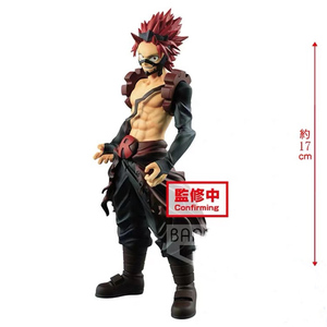 In stock Original banpresto My Hero Academia Figure Age of Heroes Red Riot Eijiro Kirishima(China)