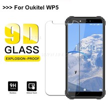 "Smartphone 9H Tempered Glass for Oukitel C12 Pro C12PRO Protective Phone Film 2.5D Screen Protector For Oukitel WP5 5.45""Glass(China)"