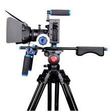 Cage de stabilisateur de caméra à monter à l'épaule, appareil vidéo pour Canon 5D Mark III IV 6D 7D Nikon Sony A7 GH5 GH4 DSLR, caméscopes DV