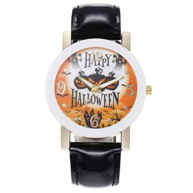 Halloween Explosion Belt Watch Men And Women.