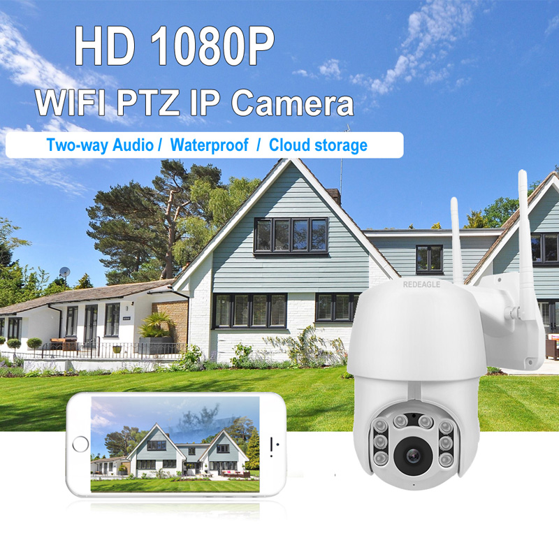 1080P Wireless Camera Super Mini Auto tracking PTZ Speed Dome WIFI Camera Outdoor Waterproof Security Surveillance IP Cameras