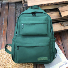 HOCODO Solid Color Backpack…