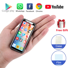 Маленький 4G смартфон Melrose супер мини телефон 3,4 дюймов MT6739V 1 ГБ 8 ГБ Android 8,1 две sim-карты мобильный телефон PK S9 Plus