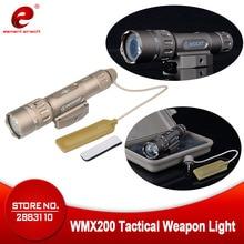 Evolução da noite lanterna tática caça lanterna wmx200 ir gun luz airsoft caça lâmpada armas arma luz ne04014