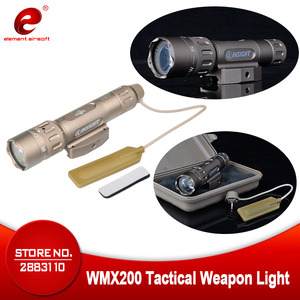 Image 1 - Night Evolution Tactical Flashlight Hunting Lantern WMX200 IR Gun Light Airsoft Hunting Lamp Weapons Gun Light NE04014